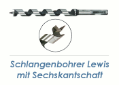 8 x 235mm Lewis Schlangenbohrer (1 Stk.)