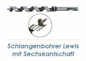 12 x 235mm Lewis Schlangenbohrer (1 Stk.)