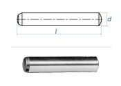 3 x 6mm Zylinderstift DIN 6325 - Tol. m6 (10 Stk.)