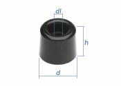 20 x 23mm Türpuffer PVC (1 Stk.)