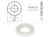 3,2mm Unterlegscheiben DIN125 Polyamid  (100 Stk.)