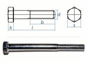 M6 x 45mm Sechskantschrauben DIN931 Teilgewinde Stahl...