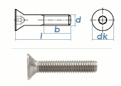 M8 x 65mm Senkschrauben DIN7991 Edelstahl A2 (1 Stk.)