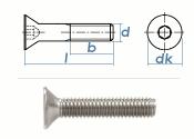 M12 x 30mm Senkschrauben DIN7991 Edelstahl A2 (1 Stk.)