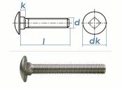 M12 x 110mm Torbandschrauben DIN603 Edelstahl A2 (1 Stk.)