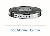 12 x 0,75mm Lochband (1 Stk. = 10m Rolle)