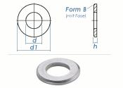 6,4mm Unterlegscheiben DIN125 Form B Edelstahl A2 (10 Stk.)