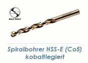 6mm HSS-E Spiralbohrer Co5 kobaltlegiert  (1 Stk.)